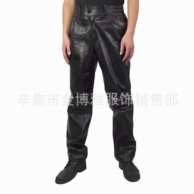 真皮皮裤 男士 休闲款羊皮皮裤 整皮皮裤 -价格,厂家,图片,男式休