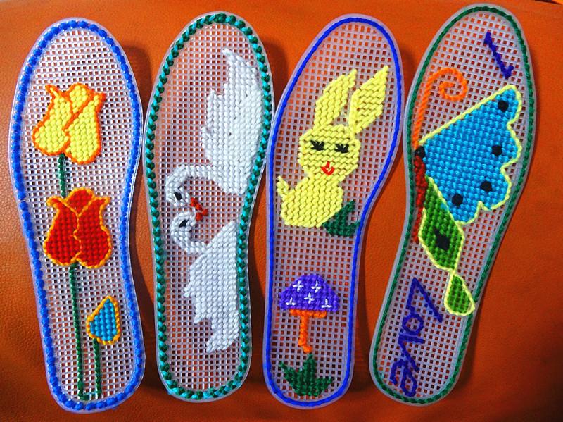 塑料鞋垫 塑料网格正格斜格双面大图纸手工十字绣塑料鞋垫 阿里巴巴