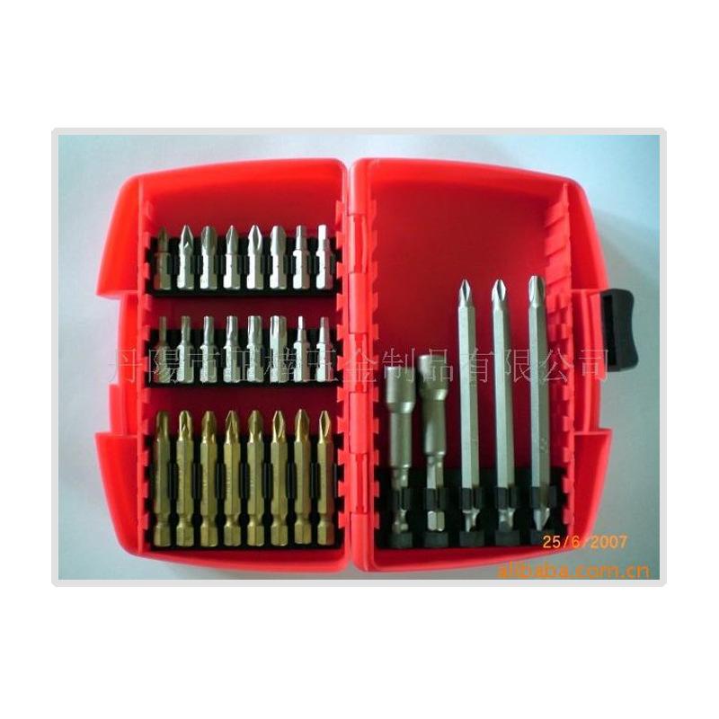 多用组套工具批发 强力冲击螺丝 批头组套40PCS  螺丝批头组套