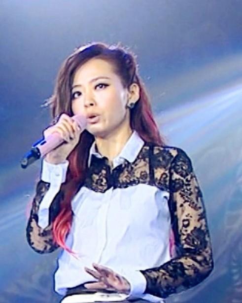 式衬衫-2013新款湖南卫视跨年演唱会张靓颖同