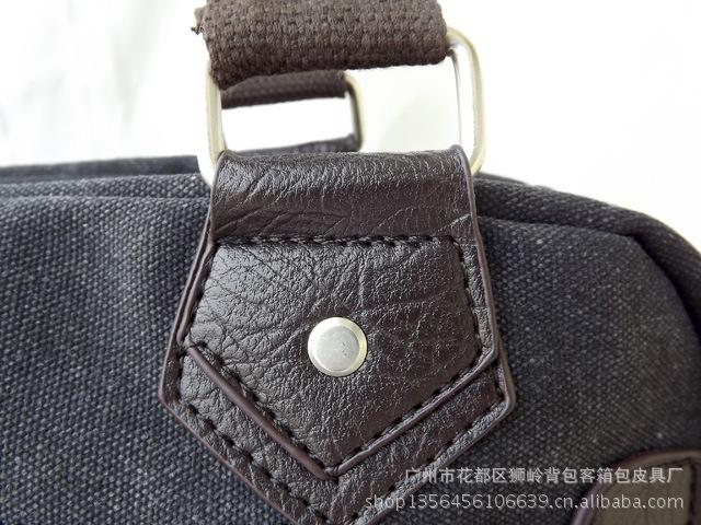 2011新款韩版男包 CK男包 时尚休闲男士帆布包手提 单肩...