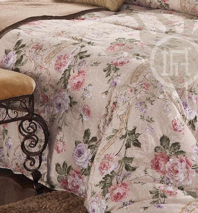 羽绒被专用印花面料布料 防羽布 60支缎纹 活性磨毛工艺 11