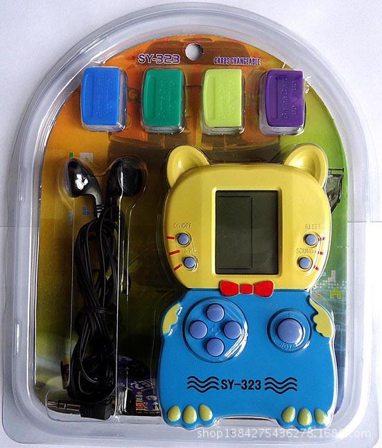 销SY-323掌上游戏机 经典俄罗斯方块游戏机 B