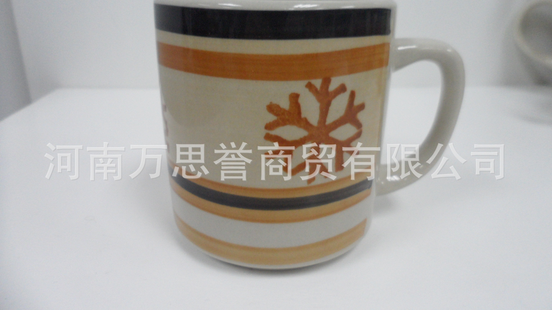 8盎司创意个性咖啡杯 手绘陶瓷杯马克杯 促销礼品