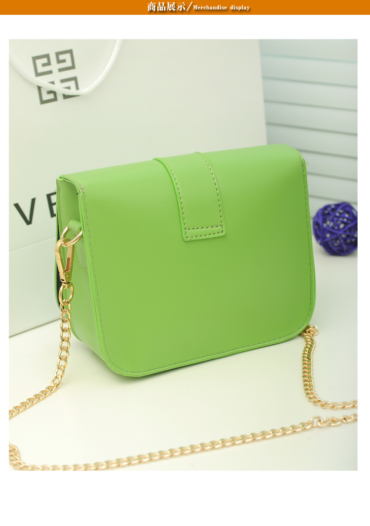 Lowest!!!Women Messenger Bags High Quality Chain Candy Handbags Women