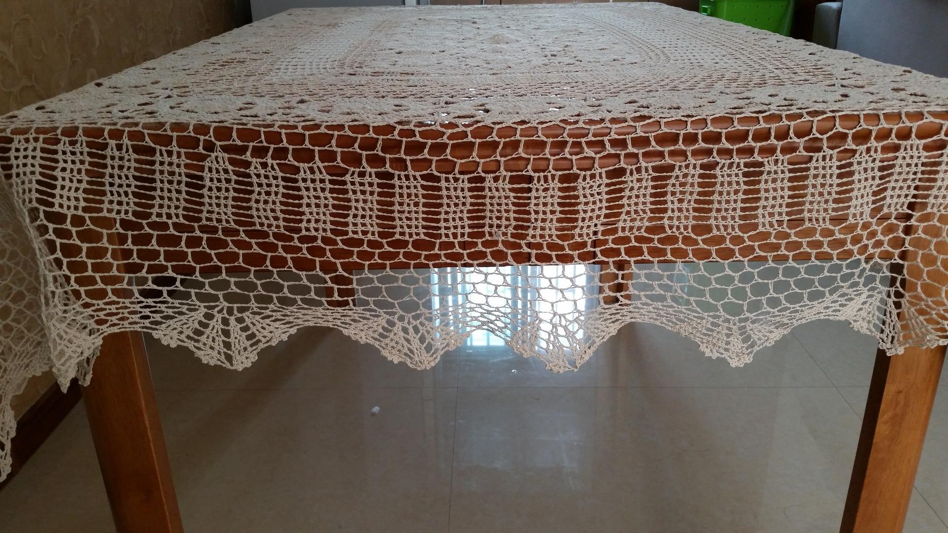 长方形桌布_外贸手工869花型长方形桌布/台布/沙发布