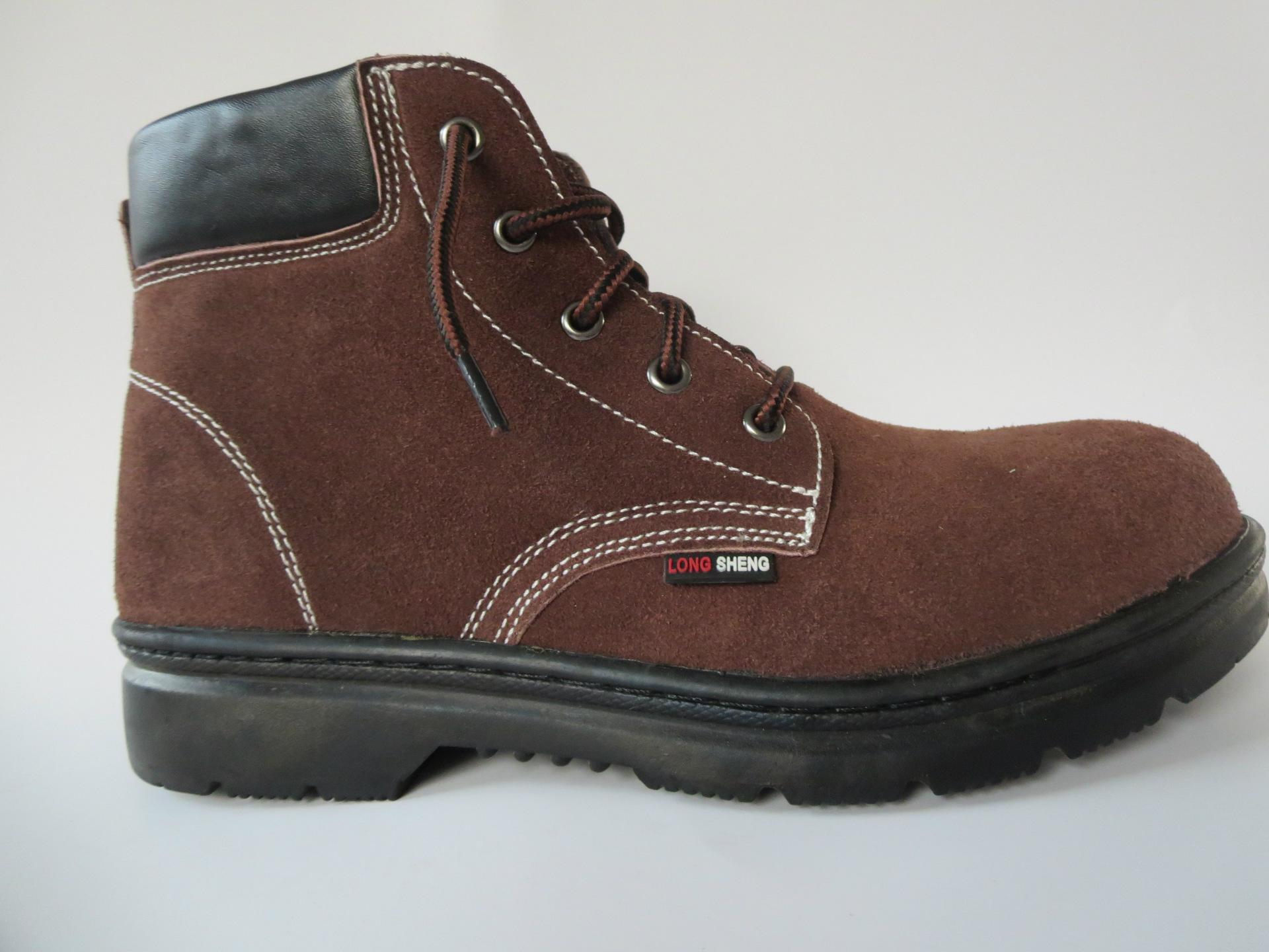 厂家供应德孚(国标)DF-612防砸防刺穿安全鞋保护足趾工作鞋