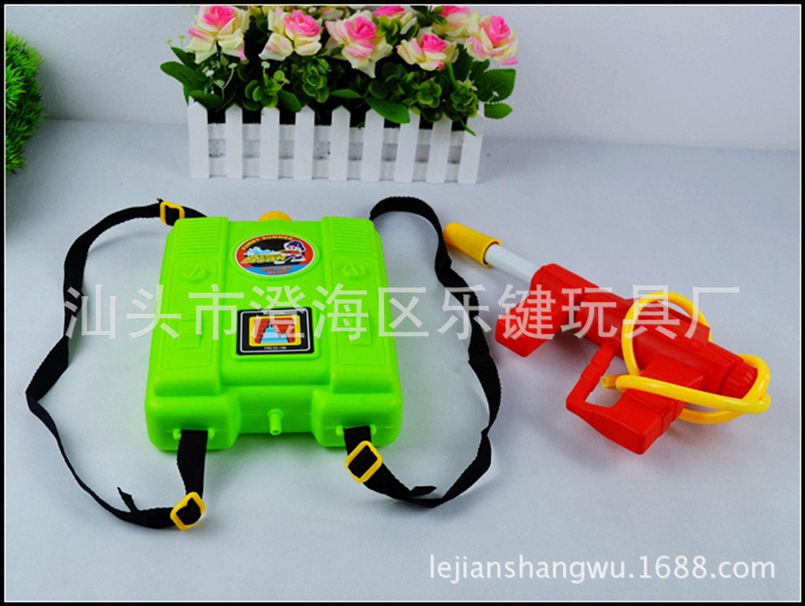 水枪背包玩具远射程单双头大小号高压抽拉漂流戏水厂家直销玩具