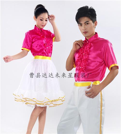 女士礼服衬衫系领结衬衣伴娘演出大合唱荷叶花边衬衫裙子女款特价