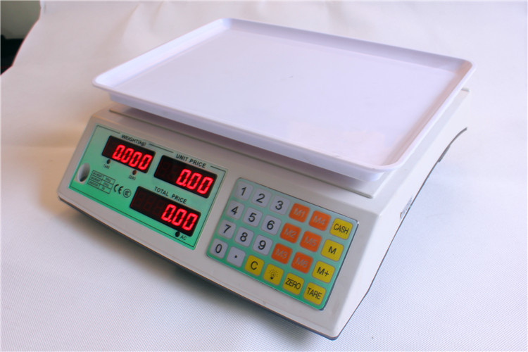 电子计价秤 永州 电子计价秤 30kg ACS 30系列 电子称 阿里巴巴