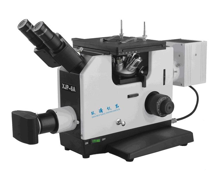 【厂家直供】XJP-6A三目倒置金相显微镜