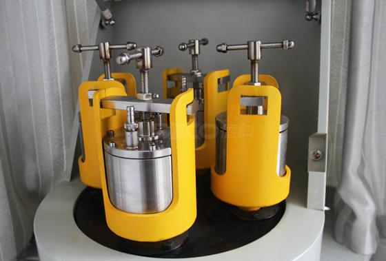 轻型行星式球磨机(装配4个不锈钢真空球磨罐)