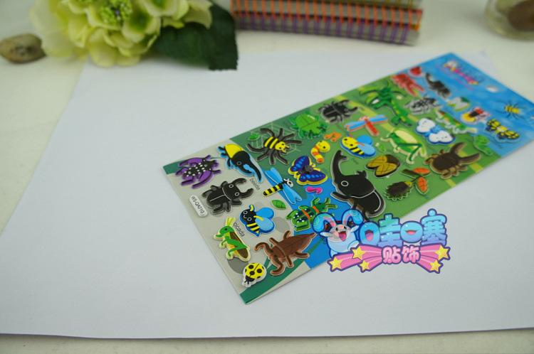 甲壳虫立体装饰贴画贴纸日记相册 阿里巴巴