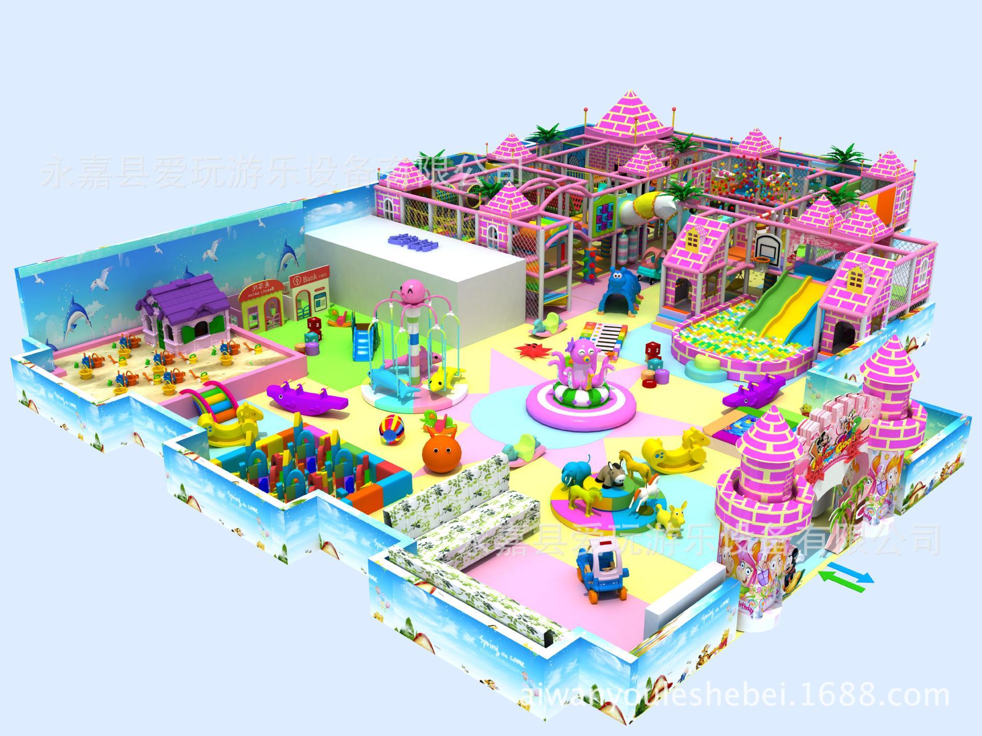 淘气堡园 儿童乐园