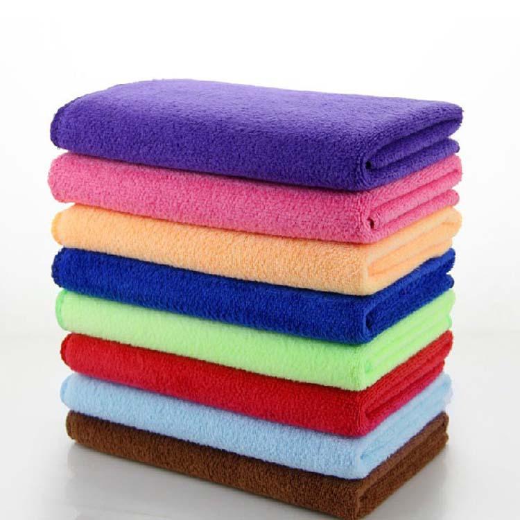 【纳米超细纤维洗车毛巾薄款多功能厨房清洁吸