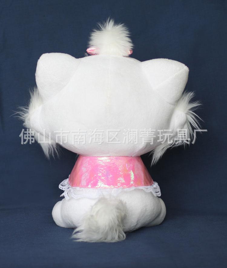 可爱的毛绒公仔儿童玩具30cm披风猫精品生日情人节礼物