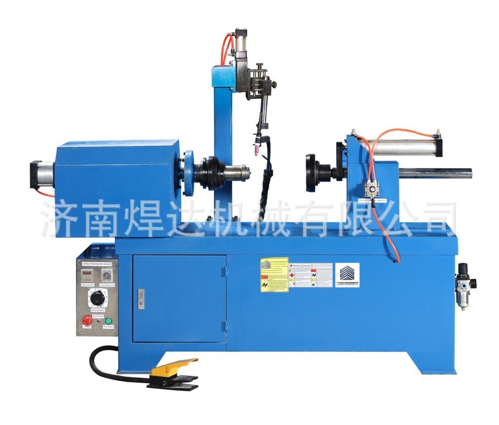 济南焊达定做快速环缝焊专机 气动下枪极大提高工作效率变