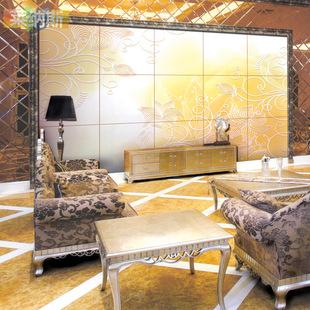 【莱纳斯】瓷砖背景墙 客厅电视背景墙墙砖 艺术瓷砖雕刻 灵动