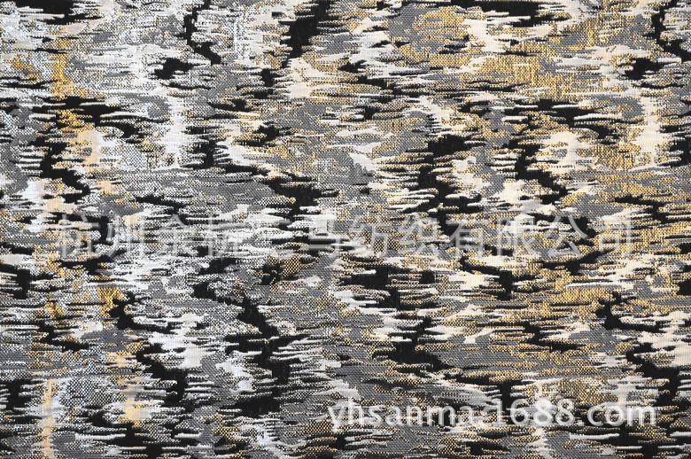 【工厂丝提花服装面料杭州金银】经典的v工厂书籍图片
