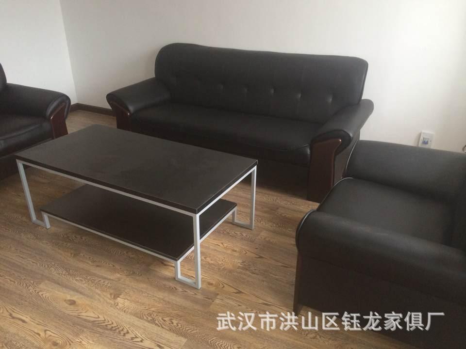 办公沙发 皮沙发 武汉办公家具 木沙发家具厂