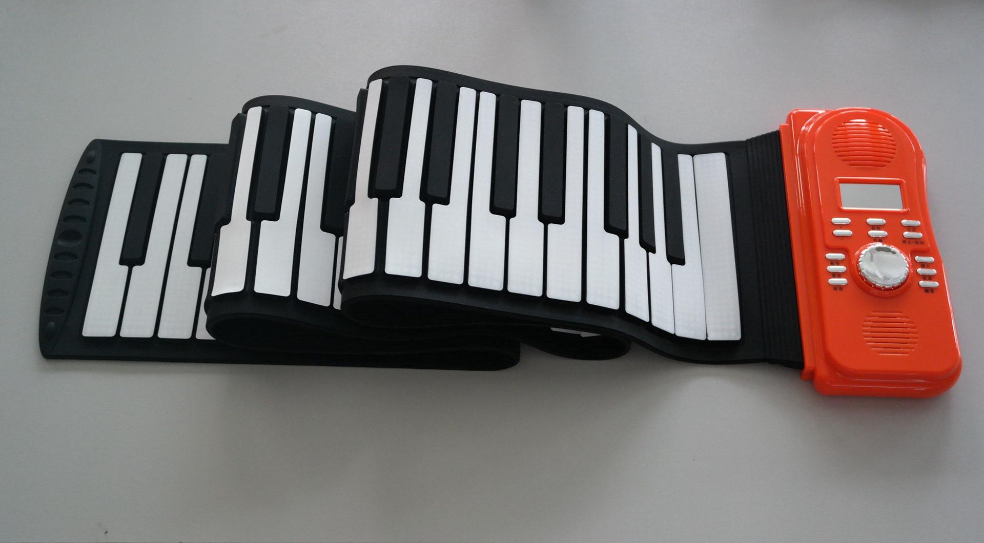 优惠大促销88键高音质手卷钢琴电子琴批发定做 键盘类乐
