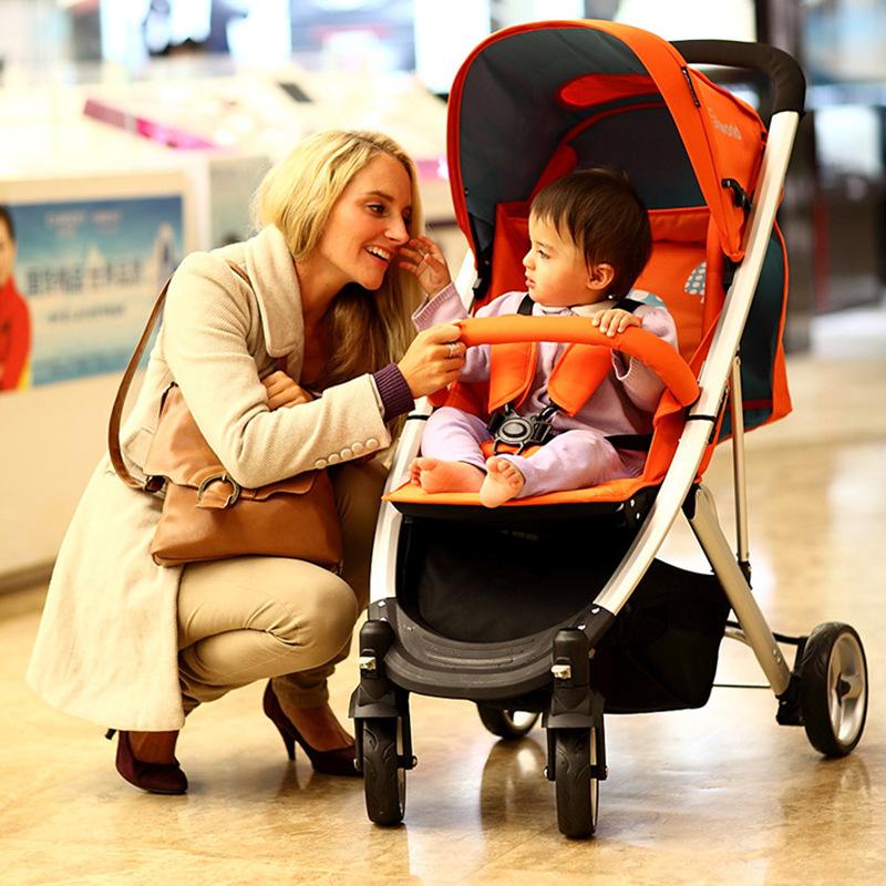 婴儿推车 轻便超轻 可坐可平躺 手推车双向四轮宝宝童车 婴儿车