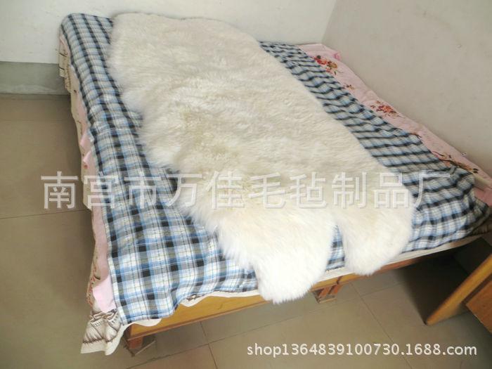 羊皮床毯四拼六拼八拼400元每平米