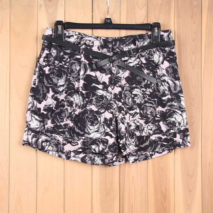 女款 印花 短裤|库存裤子处理,库存牛仔裤回收|,短裤,单价 19.83元,数量 3000件|服库网