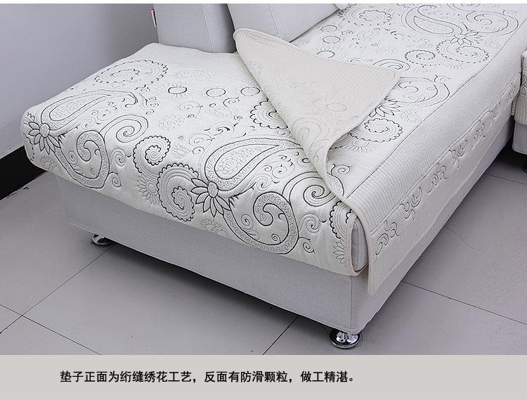 坐垫 沙发垫 厂家热卖 夏季沙发垫新款冰丝欧式真皮沙发坐垫布艺沙发