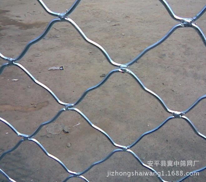 厂家直销7*7的孔450丝2米*3米镀锌美格网 防盗网 隔离网