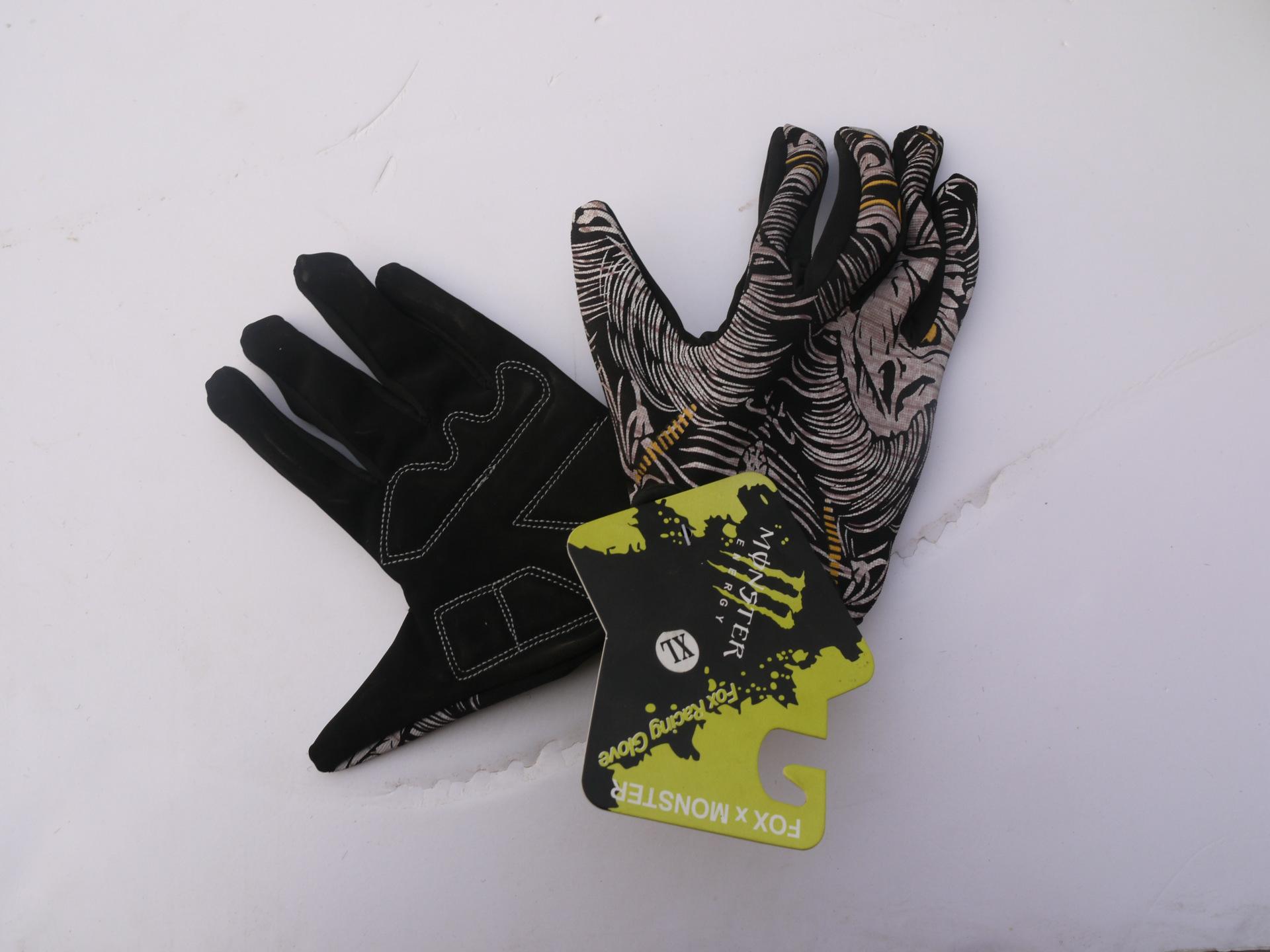 厂家直销,山地车手套。全指手套,骑行手套,鬼爪全指手套。