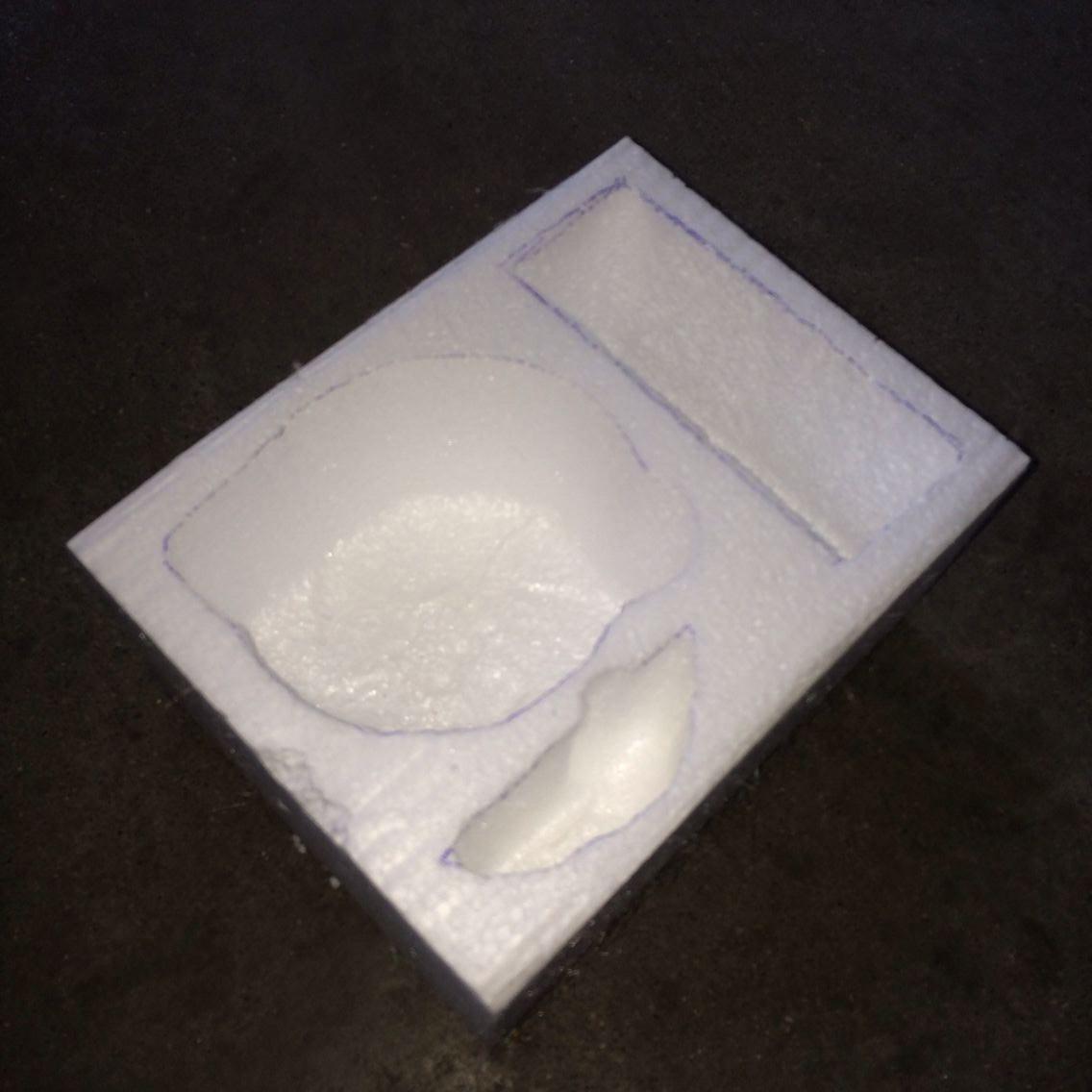 汕头厂家专业定制 免模泡沫包装 保丽龙EPX挖型加工 快递物品防震