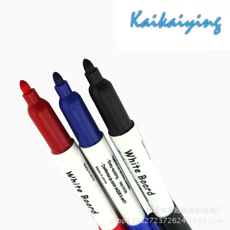 【凯凯】厂家大量批发 办公文具可擦白板笔 红黑蓝三色