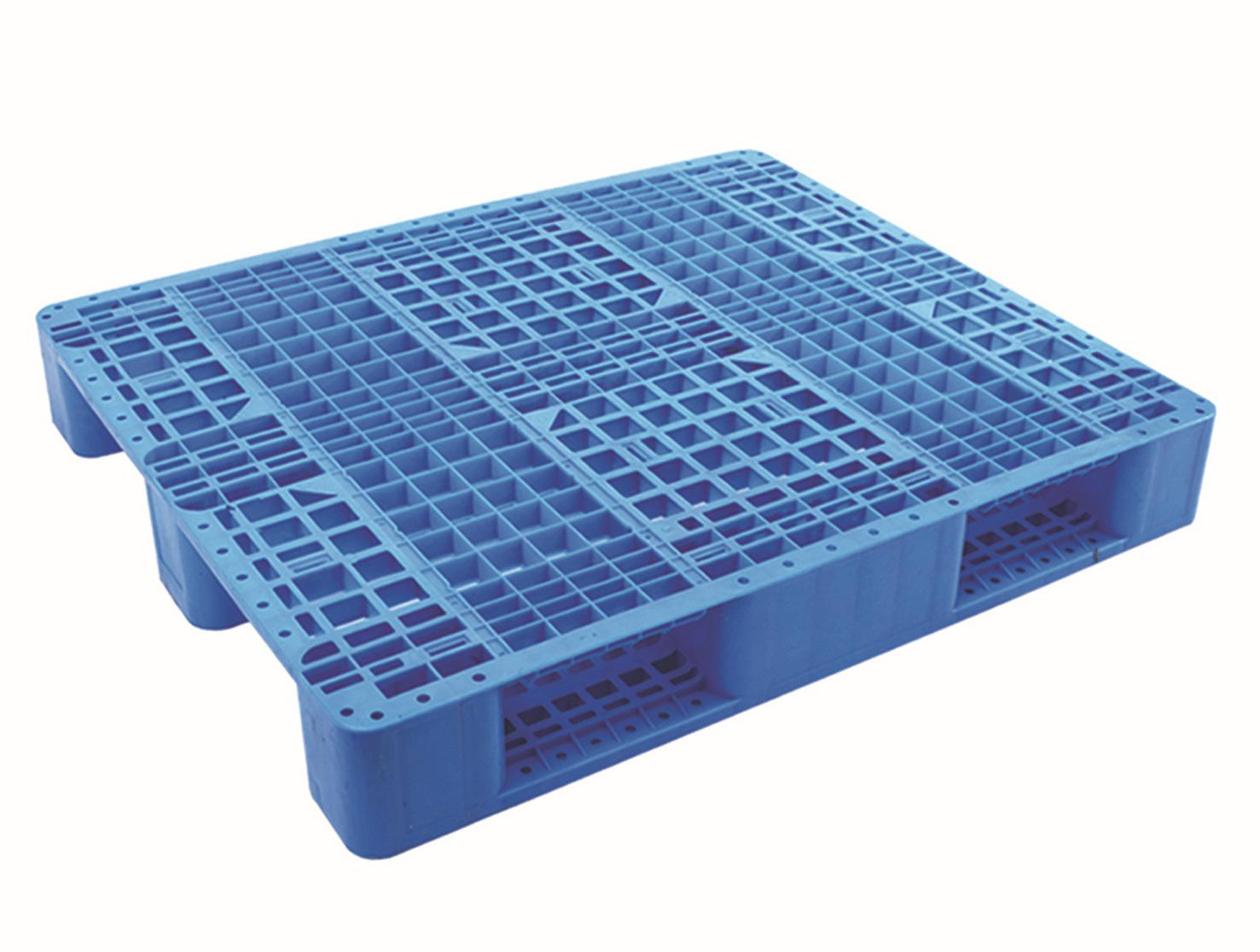 厂家批发 塑料托盘 1.2米2网格川字垫板 塑料栈卡板 塑胶垫仓板