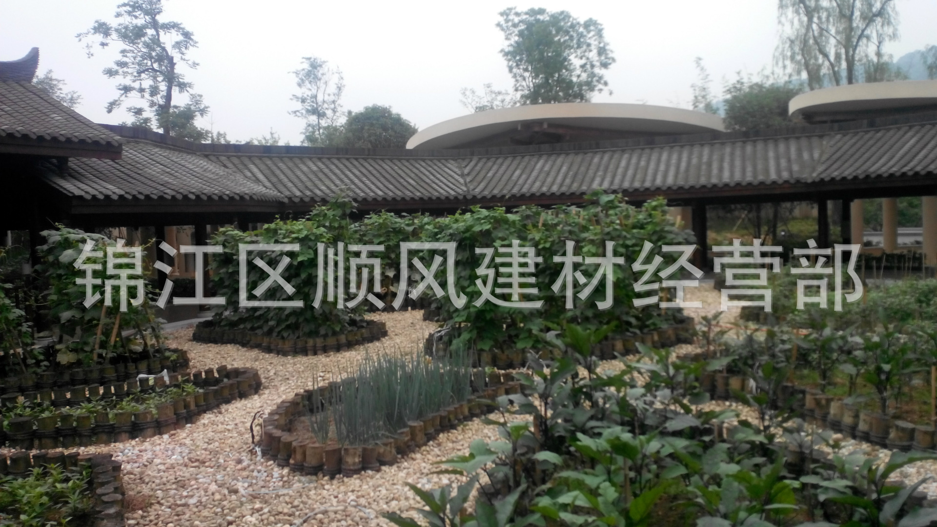 农村别墅屋脊造型