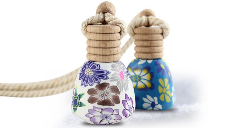 软陶香水挂件--15