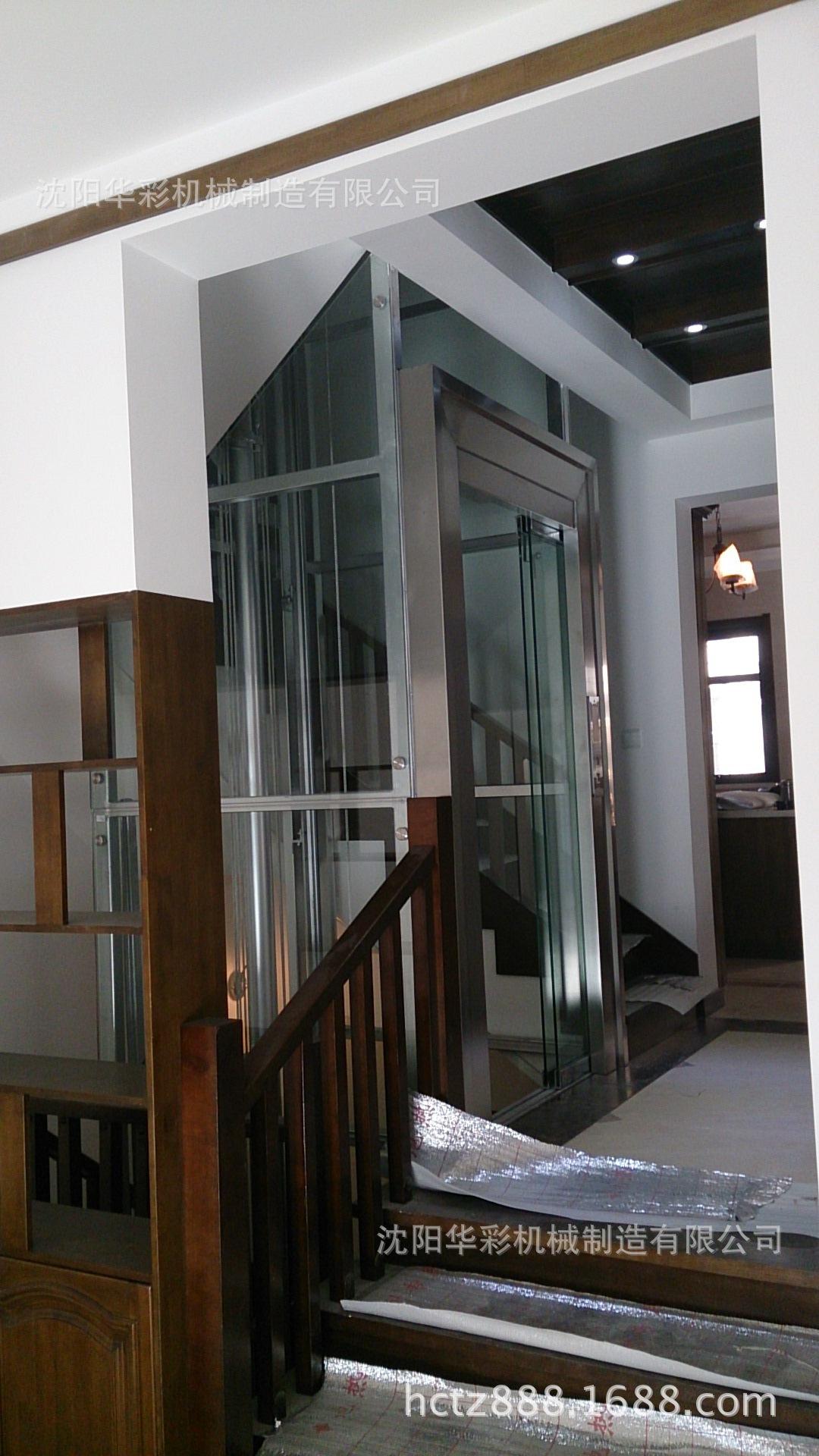 电梯别墅观光电梯安装家用电梯024-233011礼贤镇别墅图片