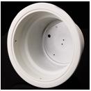 COB筒灯反光杯,西铁城反光杯,GX-6011-F