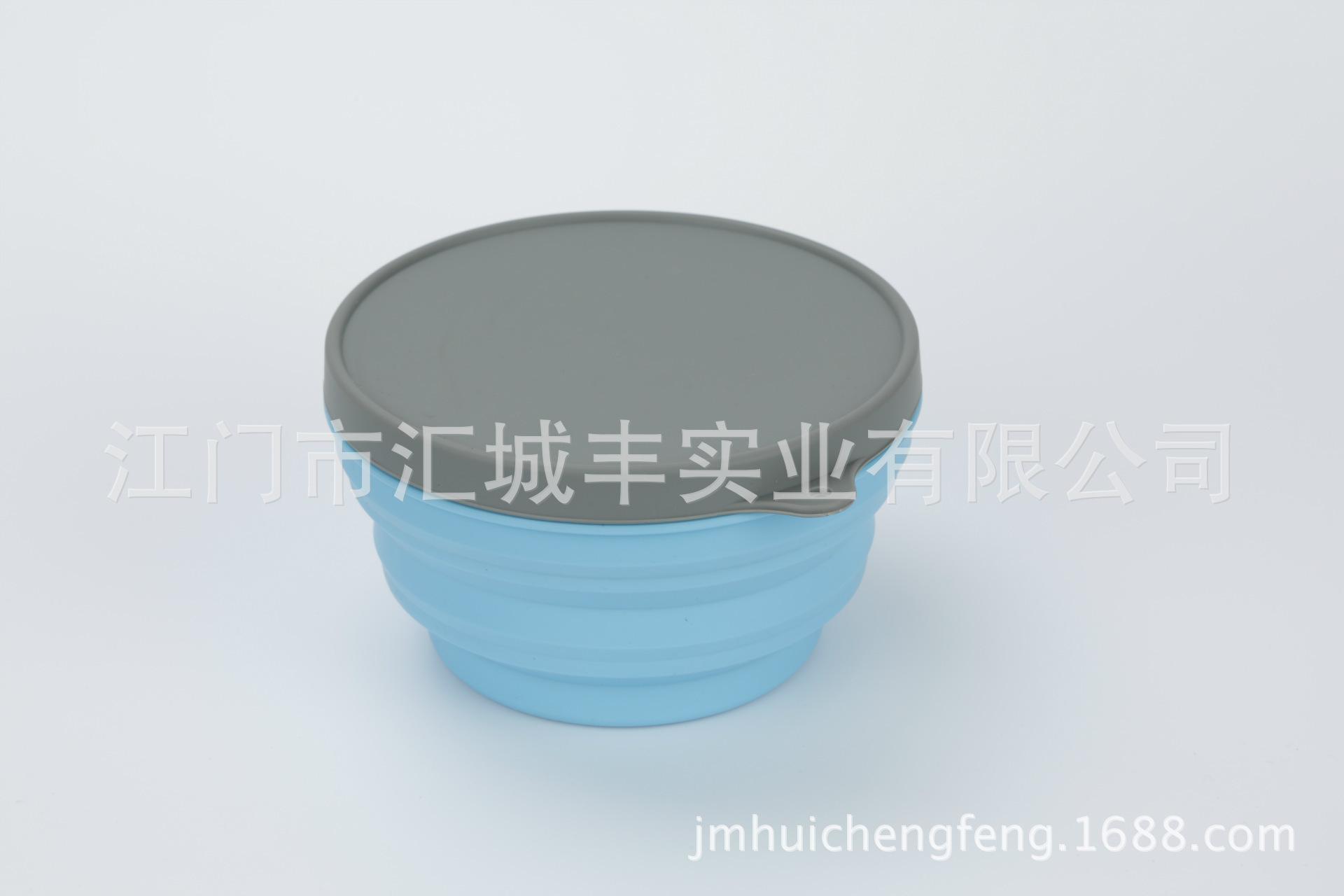 硅胶折叠碗套装大中小三个一套,食品级硅胶材质安全 无毒