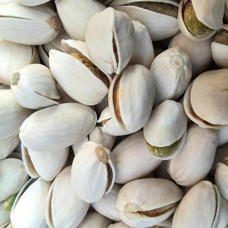 新疆特产绿色天然开心果白色奶油味,健康营养,自然晒干,美味休闲