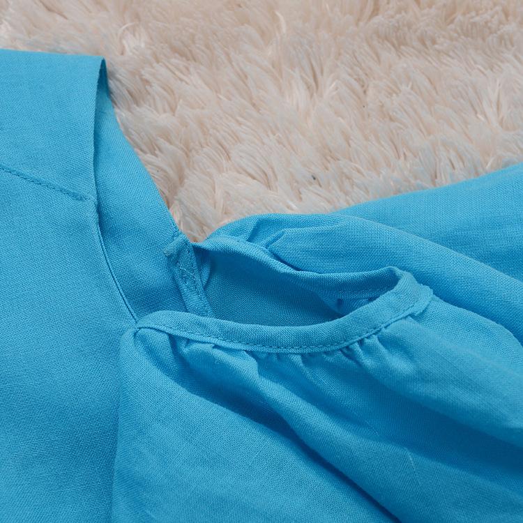2015年蜜艾俏定制夏季新品韩国亮色甜美荷叶袖露肩上衣一件代发