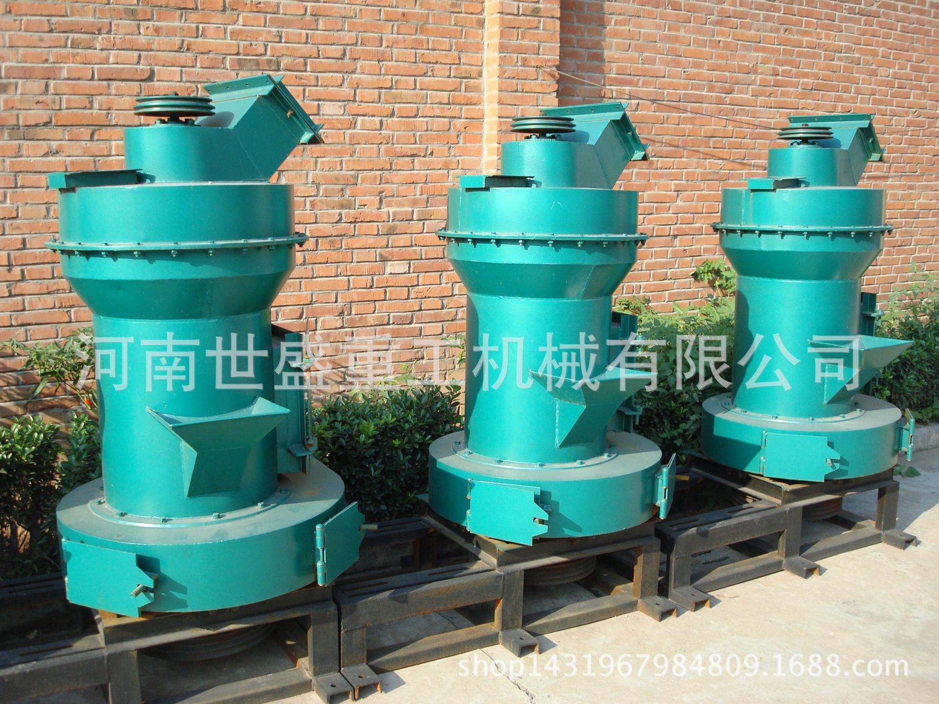 高压悬辊磨粉机YGM85,主要适用于加工莫氏硬度9.3级以下的