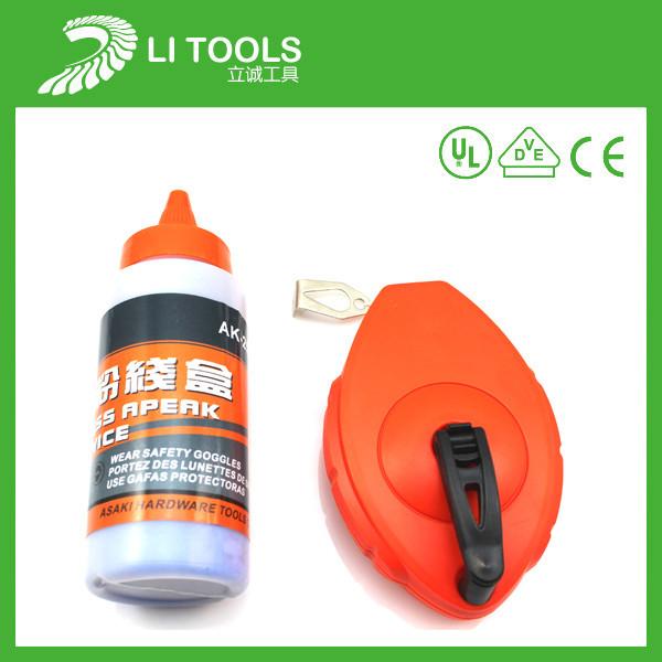 供应建筑检测高精度划线器,塑料划线器套装,优质粉线盒