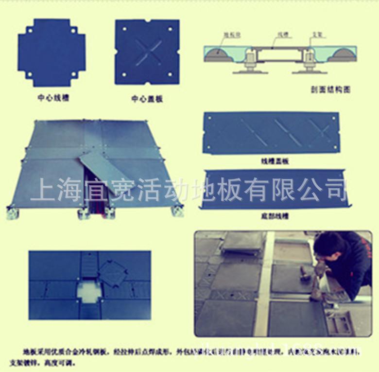 线槽地板500型_