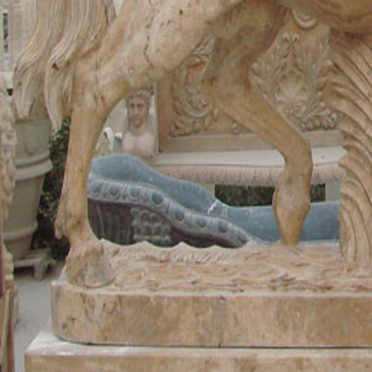 石雕马 汉白玉石雕马 晚霞红石雕马制作过程 100%厂家直销