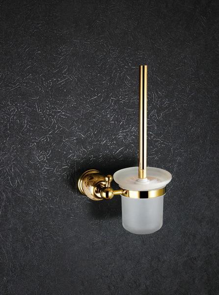 厕刷架 全铜马桶刷套装 厕刷套装 复古高档陶瓷 大理石
