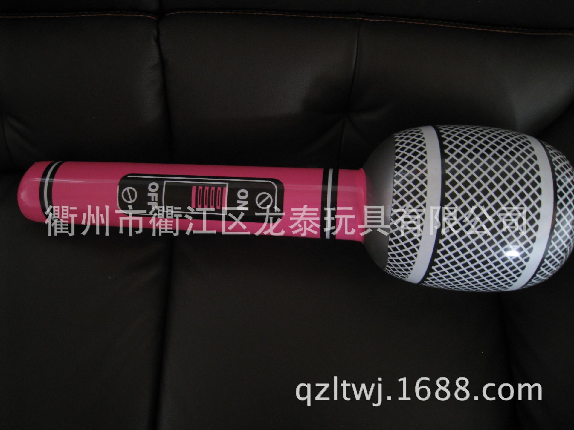 【厂家直销】供应PVC充气萨克斯 充气乐器 充气麦克风