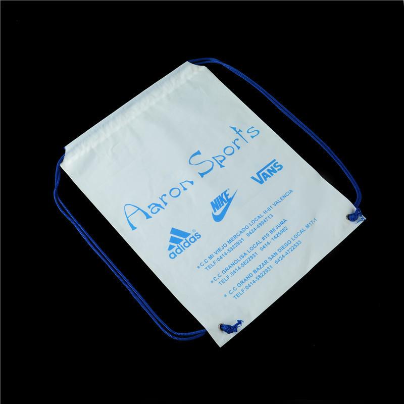 DSC_2833拉绳背包胶袋   材料 PE奶白料 尺寸