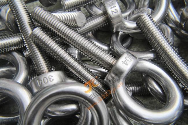 供应M12*70加长吊环螺丝 304吊环螺丝不锈钢吊环螺栓厂价直销