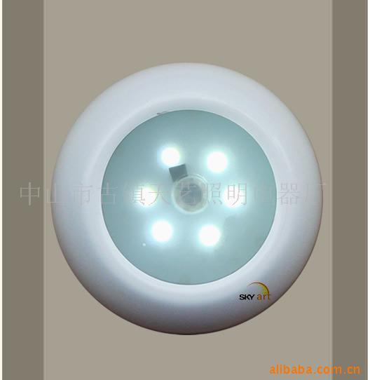 自带电池感应灯/LED红外线感应灯/衣柜感应灯